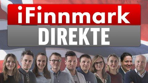 SENDTE DIREKTE: iFinnmark hadde 10 journalister i sving med livesendinger i fylket, samt 6 ressurser inne på desk, skriver ansvarlig redaktør Arne Reginiussen.