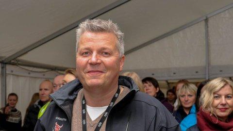 VIL ARRANGERE: Stig Anton Eliassen vil gjerne arrangere Høstsprell i september. Her er han avbildet under åpningen av Alta Soul & Bluesfestival i 2016.