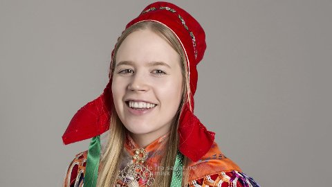INN PÅ TINGET: Márja-Liissa Partapuoli