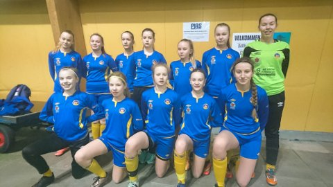 TENKER UTVIKLING: Bjørnevatn ILs J14-lag skal gi Alta IF kamp om finaleplassen i kretsmesterskapet i Øksfjord på lørdag.