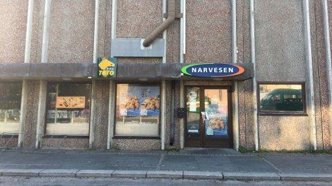 LEGGES NED: Narvesen er den siste kiosken i Vadsø sentrum, og i forrige uke ble det kjent at den legges ned.