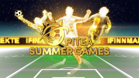SENDES DIREKTE: iFinnmark sender direkte fra Piteå Summer Games, som er verdens 5. største fotballturnering for aldersbestemte lag.