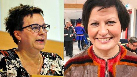 Ragnhild Vassvik og Helga Pedersen.
