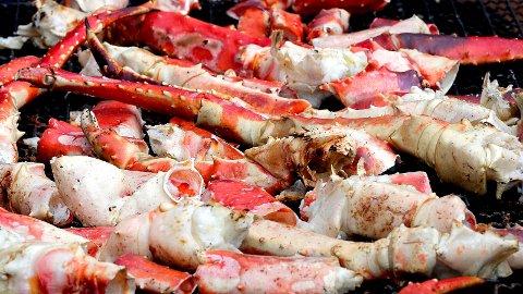 DELIKATESSE: Krabbeklør er en delikatesse, og selges for store summer, over 1000 kroner kiloen på fisketorget i Bergen.