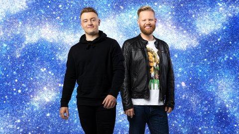 FINALEN: BIlal Saab  fra Hasvik og Kim Rysstad sto i årets Stjernekamp-finale.