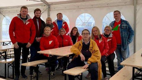KRITISK: Denne gjengen i Berlevåg SV er ikke imponert over det Berlevåg Høyre har levert så langt i valgperioden.