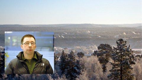 KALD SKULDER: Kjetil Hanssen (innfelt) og Porsanger Arbeiderparti vil bryte samarbeidet med Karasjok. – Du samarbeider ikke med noen som vil stjele fra deg, tordner han.