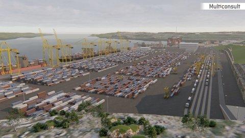 DYRERE: Den nye havna i Kirkenes vil bli 10 millioner dyrere enn tidligere planlagt, ifølge ny utredning.