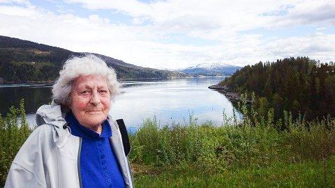 PARTISANHJELPEREN: Ruth Hartviksen fra Berlevåg var den siste gjenlevende partisanhjelperen i Finnmark.