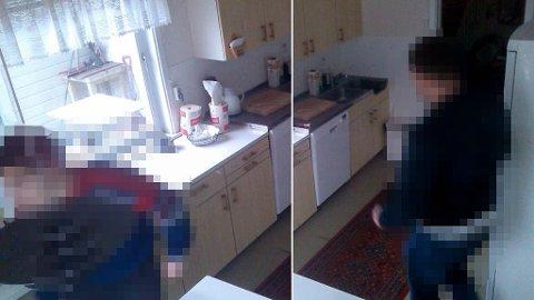 INNBRUDD: To menn gjorde innbrudd i hytta til Vidar Kristoffersen i Langfjorden i Alta kommune.