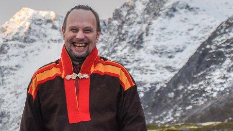 HELHET: - Vi er en del av en mye større helhet, sier leder av Sjamanistisk Forbund Kyrre Gram Franck.