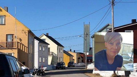 HØYERE SKATT: Fordi at grunnlaget for beregningene for satsen for eiendomsskatten har økt, har  de aller fleste i Vardø nå mottatt en høyere faktura enn vanlig, på tross av at selve satsen har gått ned fra syv til 3 promille. Dette reagerer blant andre Jorill Døvle på.