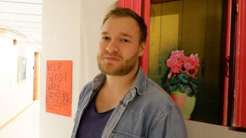 AVDELINGSLEDER FOR STUDIESPESIALISERENDE: Andreas Rushfeldt er avdelingsleder ved Vadsø videregående skole og blir den som skal organisere de to nye linjetilbudene som kommer til neste skoleår.
