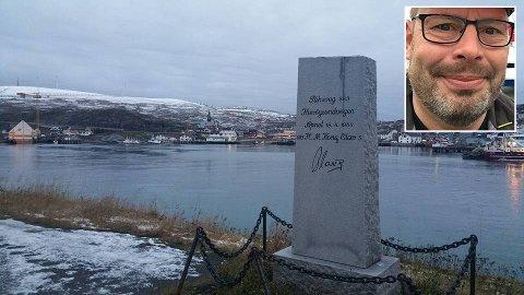 GITT GRENSE: Kongeplassen i Havøysund blir en kontrollstasjon for å hindre at smitten kommer inn i kommunesenteret.