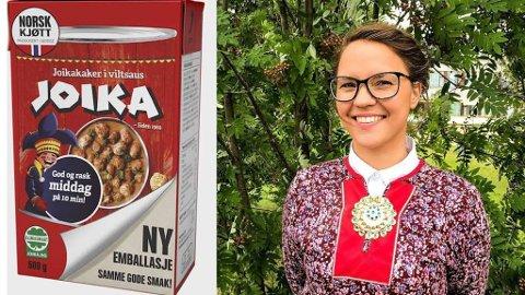 GLAD FOR DIALOG: Joika-navnet kan bli fjernet, etter kritikk fra Samerådet, her ved leder for Samerådets kulturavdeling, Christina Hætta. Foto: (Samerådet)