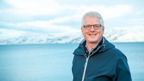 PLANER I FOR FLERE HUNDRE MILLIONER: Cermaq Norway vil etablere et settefiskanlegg på Sørøya. Regiondirektør i Finnmark, Gunnar Gudmundsson, sier at dette er noe de har jobbet med i flere år.