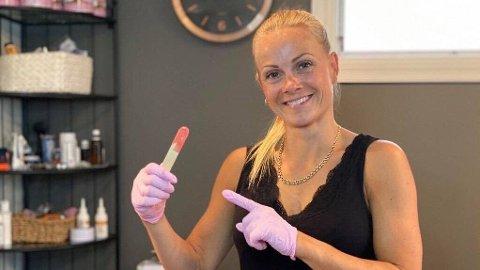 VOKSING: Å vokse er en av mange hårfjerningsmetoder man kan bruke.  Foto: Privat