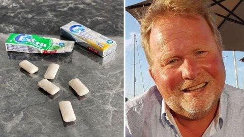 Lege Kjetil Høye oppklarer myte om tyggegummi.