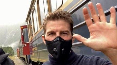Tom Cruise med klart svar på spørsmål om han liker Norge. Foto: (TV2)