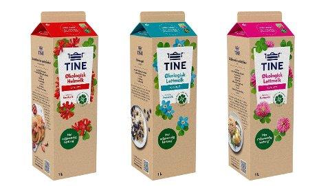 NY KARTONG: Kjenner du igje denne åpne- og lukkemekanismen? Nå lanserer Tine nye melkekartonger. Foto: Tine