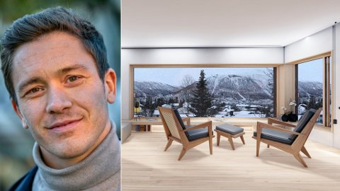 NEI: Andreas Joki Arild (bildet) skal sammen med samarbeidspartner Morten Jørgensen bygge bolig i Forhåpningen. Men kommunen lar seg ikke begeistre. Foreløpig.