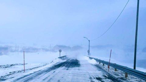 VIND: Berlevåg er blant plassene hvor det blir mest vind fremover.