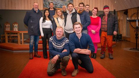 LAKSELV KIRKE: Dette bildet delt Thor Haavik da han skrev sitt innlegg om Farmenb-festen i Billefjord.