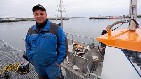Svein Harald Holmen i Vardø. Bildet er tatt i en annen anledning.