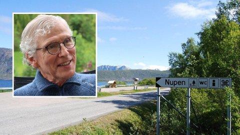 KONFLIKT: Det hadde vært fint om Kartverket ville spare oss for dette., sier Knut Holte om Kartverkets anke i saken om navnet til denne sterkningen.