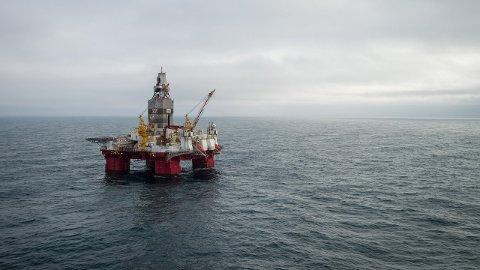 Equinor har gjort et stort oljefunn nært feltet Johan Castberg som administreres fra Harstad. Her er boreriggen Transocean Enabler.