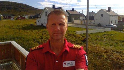 Viktor Hansen, distriktsrådsleder for Finnmark Røde Kors Hjelpekorps , vil oppfordre folk til å følge fjellvettreglene.
