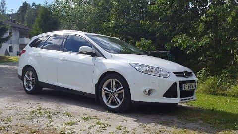 Stjålet: Denne bilen ble stjålet fra Aurskog ved 12-tiden onsdag.