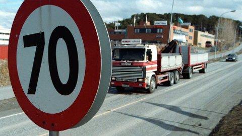 Ønskes endret: Fartsgrensene i Norge kan bli satt ned på en rekke veier.