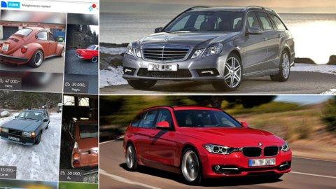 Mange salg: Nesten 470.000 bruktbiler skiftet eiere i fjor. Tallet er rekordhøyt.