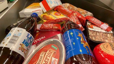 BILLIGERE: Alle disse varene blir billigere mandag. Foto: Halvor Ripegutu/Nettavisen