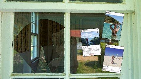 FERIEBILDER: Du må gjerne dele feriebilder og oppdateringer fra stranda på sosiale medier, så lenge du har privat profil og ikke er altfor detaljert. Innbruddstyvene bruker nemlig andre metoder for å finne ut om du er hjemme. Foto: Getty Images/Instagram