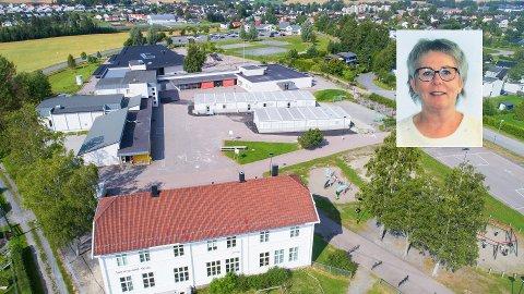 Wenche Ovlien Engen (innfelt) blir ny rektor ved Sørumsand skole. Foto: Privat/Lillestrøm kommune