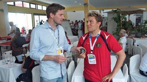 TUNG BESKJED: At Simon Kolstad Claussen ble vraket fra årets OL var både en tung beskjed å få, og en tung beskjed for sportssjef i Norges Skytterforbund, Tor Idar Aune, å gi.