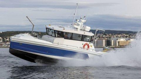 NY: Båten er allerede blitt godt mottatt av de ansatte i Sandnessjøen og blir ikke liggende stille i sin nye hjemmehavn.
