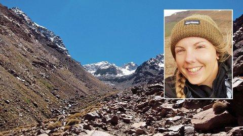 DREPT: Maren Ueland (28) fra Bryne ble drept i Imlildalen i Marokko.