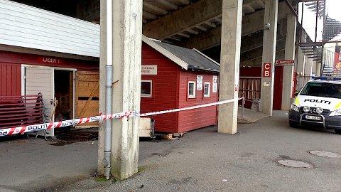 23-åring frå Time er frifunnen for innbrot og brannstifting på Bryne stadion. (Arkivfoto)