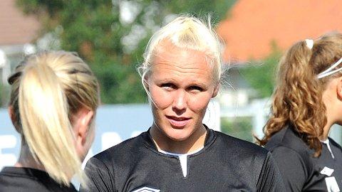 Maria Thorisdottir gjorde comeback på fotballbanen i fjor sommer, og er nå landslagsspiller.