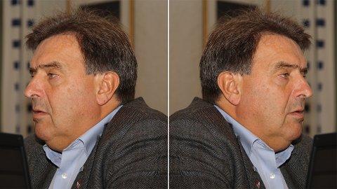 Tirsdag kveld fekk ordførar Reinert Kverneland (H) si stemme dobbel vekt. (Fotomontasje)