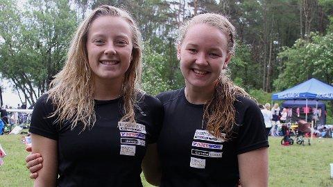 EM-KLARE: Vilde Tengesdal (t.v.) og Karen Magnussen skal delta i EM i sommer.