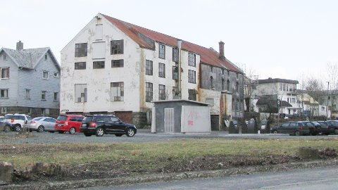 Gammalt industribygg i Nærbøgata.