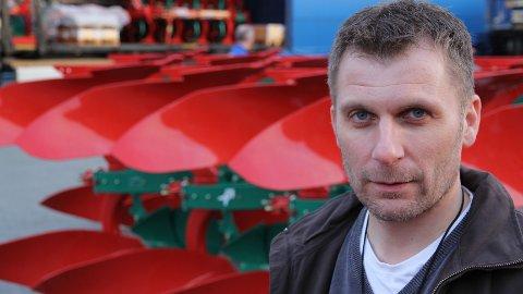 Administrerende direktør Trygve Martinsen i Kverneland Group permitterer 200 av 570 ansatte.
