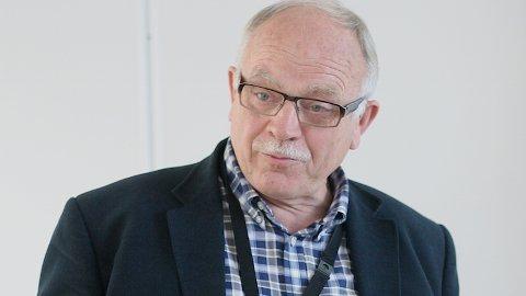 Landbruksdirektør Hadle Nevøy er bekymra for forbruket av jord.