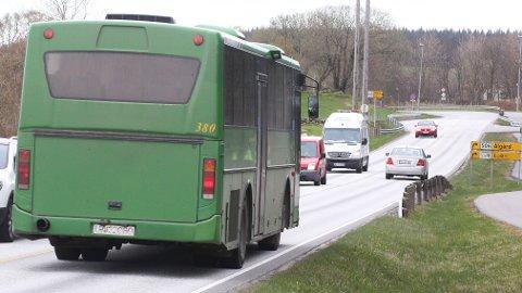 Passasjerar utan belte i bussar kan gjere stor skade på seg sjølv og andre