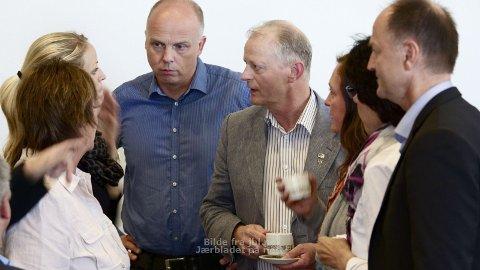 STEMTE FOR: Sammen med representantene fra Frp stemte Høyres gruppe for å legge ned åtte sykehjemsplasser ved Sirkelen. Fra venstre: Gro Haga, Ane Mari Braut Nese, Bjørn Honningsvåg, Karl Kleppe, Marie Storhaug og Bjørn Sæstad.