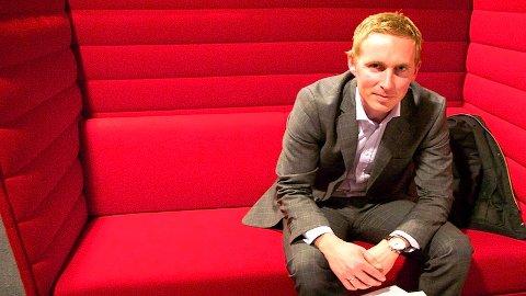 NY BANKSJEF: Geir Magne Tjåland er ansatt som ny administrerende banksjef i Jæren Sparebank.